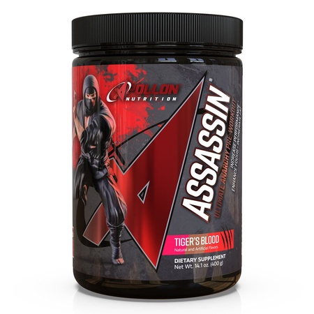 Apollon Nutrition Assassin V7  Tiger's Blood - 20-40 Servings  ($58.45 w/coupon code DPS10)