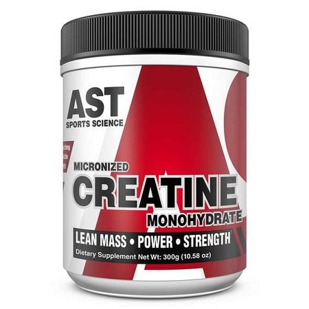 Ast Micronized Creatine Monohydrate - 300 Gram