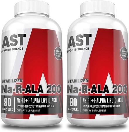 Ast Na-R-ALA 200 Mg Alpha Lipoic Acid - 2 x 90 Cap  TWINPACK
