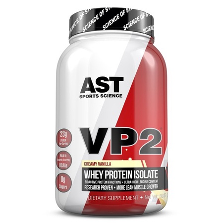 Ast VP2 Whey Protein Isolate - Vanilla - 2 Lb