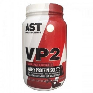 Ast VP2 Whey Protein Isolate - Chocolate - 2 Lb ($29.99 with coupon code DPS10)
