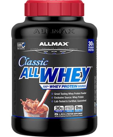 AllMax Nutrition Classic All Whey Chocolate - 5 Lb