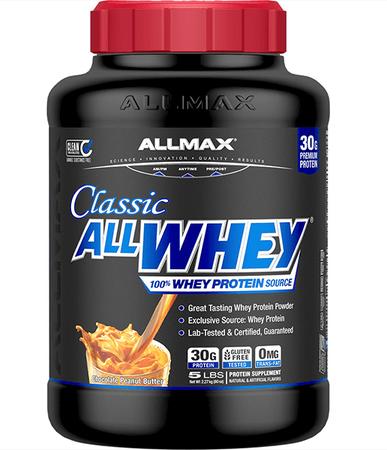 AllMax Nutrition Classic All Whey Chocolate PB - 5 Lb
