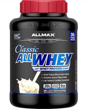 AllMax Nutrition Classic All Whey Vanilla - 5 Lb