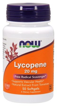 Now Foods Lycopene 20 Mg - 50 Cap