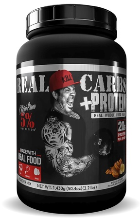 5% Nutrition Real Carbs + Protein Banana Nut  Whole Food Based Meal Replacement - 22 Servings