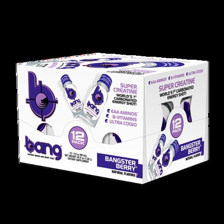 Vpx Bang Shots Bangster Berry - 12 Bottles
