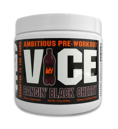 GCode Nutrition VICE Preworkout Bangin' Black Cherry - 30 Servings