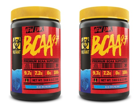 Mutant BCAA 9.7 Blue Raspberry - 2 x 30 Servings  TWINPACK  (2 for $24.99 w/DPS10 code)