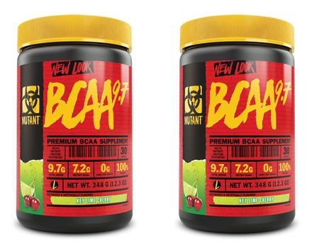 Mutant BCAA 9.7 Key Lime Cherry - 2 x 30 Servings TWINPACK  (2 for $24.99 w/DPS10 code)