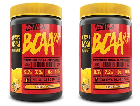 Mutant BCAA 9.7 Pineapple Passion - 2 x 30 Servings  TWINPACK  (2 for $24.99 w/DPS10 code)
