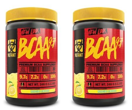 Mutant BCAA 9.7 Roadside Lemonade - 2 x 30 Servings TWINPACK  (2 for $24.99 w/DPS10 code)