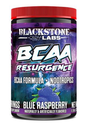 Blackstone Labs BCAA Resurgence + Nootropics Blue Raspberry - 30 Servings