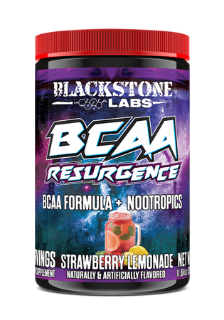 Blackstone Labs BCAA Resurgence + Nootropics Strawberry Lemonade - 30 Servings