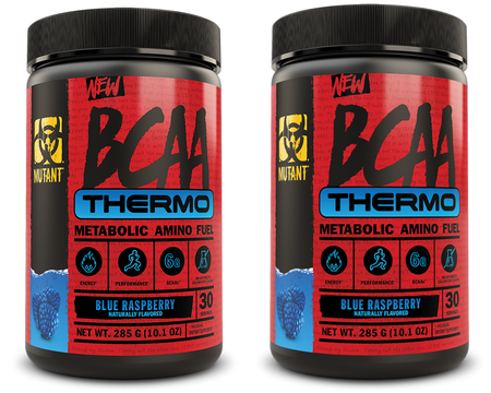 Mutant BCAA THERMO Blue Raspberry - 60 Servings (2 x 30 Servings) TWINPACK