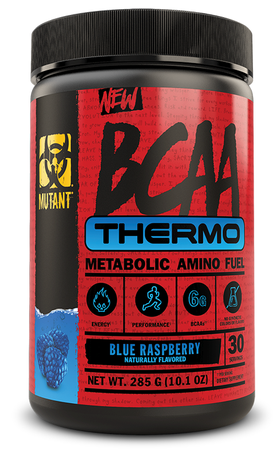 Mutant BCAA THERMO Blue Raspberry - 30 Servings