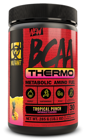 Mutant BCAA THERMO Tropical Punch - 30 Servings