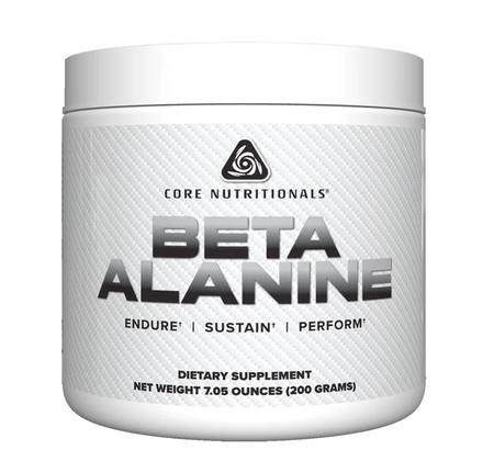 Core Nutritionals Beta Alanine - 200 Grams