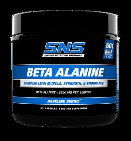 SNS Serious Nutrition Solutions Beta Alanine - 501 Cap