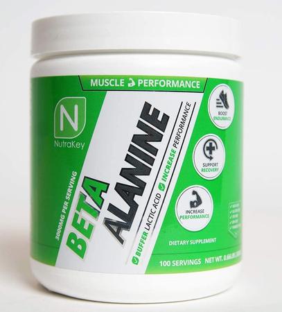 Nutrakey Beta-Alanine - 300 Grams