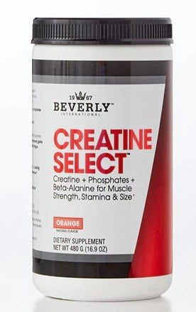 Beverly International Creatine Select + Phosphates & Beta Alanine - 40 Servings