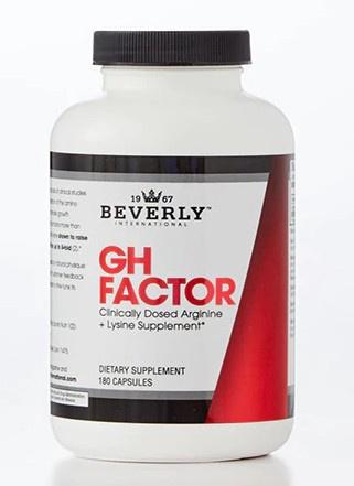Beverly International Gh Factor - 180 Cap