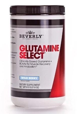 Beverly International Glutamine Select Wild Berry - 60 Servings