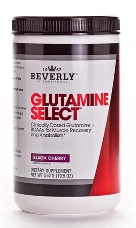 Beverly International Glutamine Select Black Cherry - 60 Servings