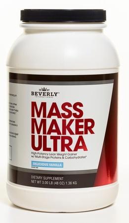 Beverly International Mass Maker Ultra Vanilla - 3 Lb *New Size