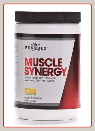 Beverly International Muscle Synergy Powder Lemon - 403 Grams
