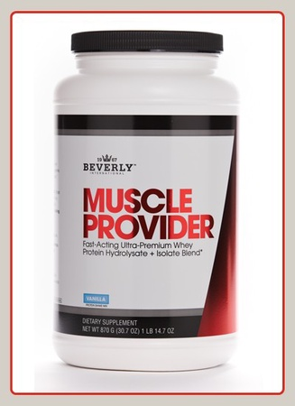 Beverly International Muscle Provider Vanilla - 1 Lb 14.68 oz