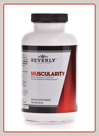 Beverly International Muscularity Bcaa's - 180 Cap