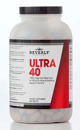 Beverly International Ultra 40 Liver - 500 Tab