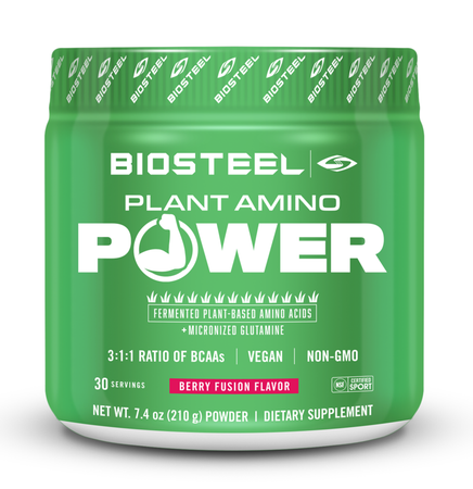 BioSteel Plant Amino Power  Berry Fusion - 30 Servings