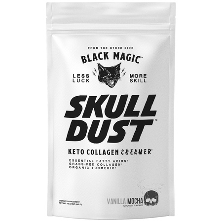 Black Magic Supply Skull Dust Keto Collagen Creamer Vanilla Mocha - 20 Servings