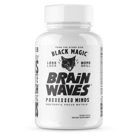 Black Magic Supply Brain Waves - 120 Cap (30 Servings)