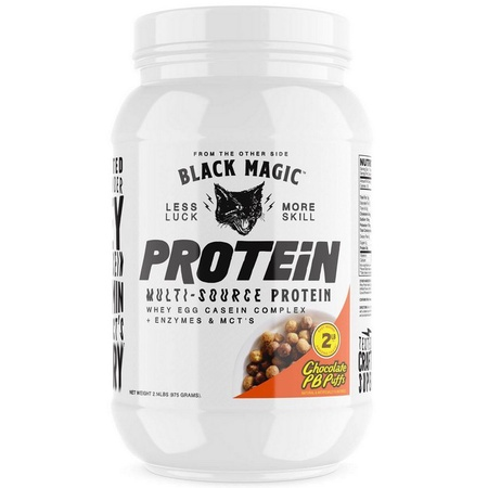 Black Magic Supply Multi-Source Protein Chocolate PB Puffs - 25 Servings