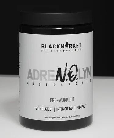 Blackmarket Labs AdreNOlyn Underground Grape Lime Rickey - 25 Servings
