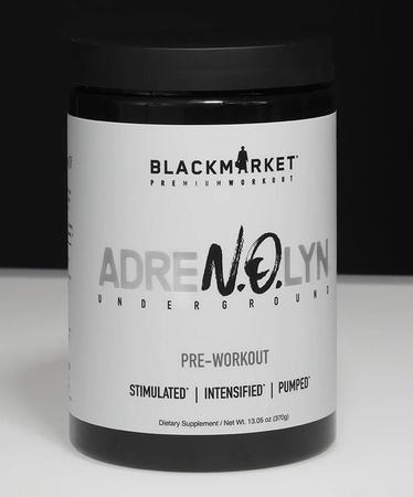 Blackmarket Labs AdreNOlyn Underground Strawberry Lemonade - 25 Servings