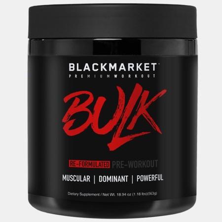 Blackmarket Labs BULK Preworkout Fruit Punch - 25 Servings