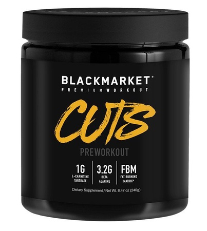 Blackmarket Labs Cuts Preworkout Watermelon - 30 Servings