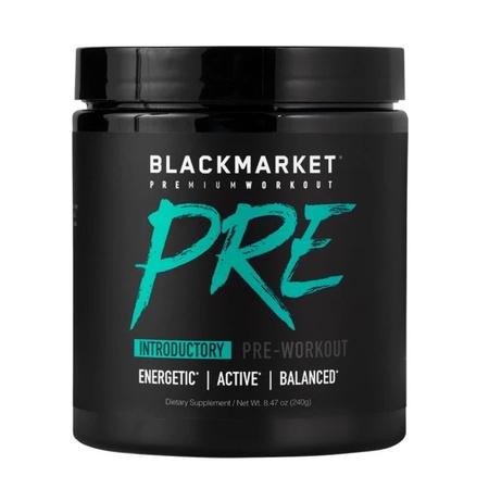 Blackmarket Labs PRE Pre Workout Blue Razz - 30 Servings