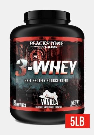 Blackstone Labs 3-Whey Protein Vanilla - 5 Lb  *SALE