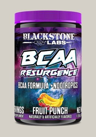 Blackstone Labs BCAA Resurgence + Nootropics Fruit Punch - 30 Servings