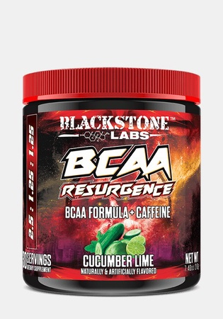 Blackstone Labs BCAA Resurgence + Caffeine Cucumber Lime - 30 Servings