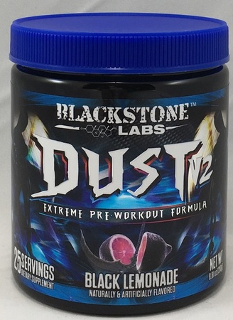 Blackstone Labs Dust V2 Black Lemonade - 25 Servings