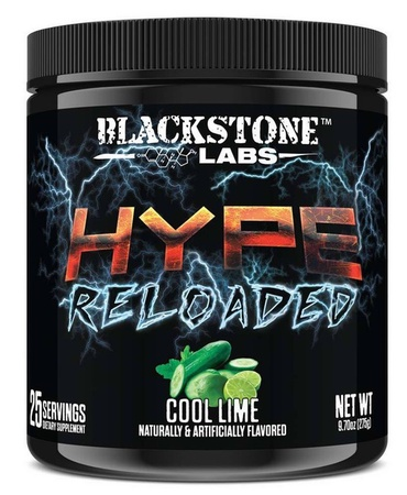 Blackstone Labs Hype Reloaded Cool Lime - 25 Servings