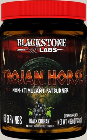 Blackstone Labs Trojan Horse Black Currant - 60 Servings