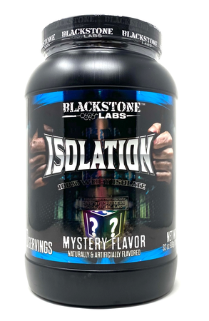 Blackstone Labs Isolation Whey Isolate Protein Mystery Flavor - 2 Lb