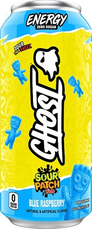 Ghost Energy Drink  Sour Patch Kids Blue Raspberry - 12 Cans ($31.99 w/DPS10 coupon code)